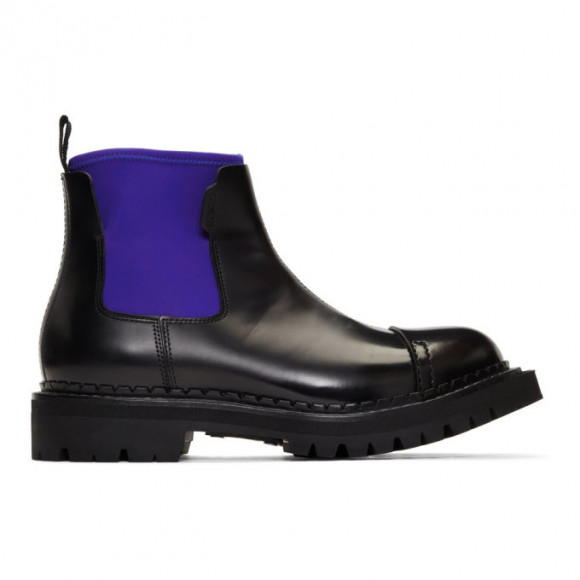 Kenzo Black Kamden Chelsea Boots - F965BT002L59