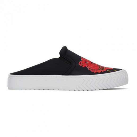 Kenzo Black Limited Edition Chinese New Year Neoprene K-Skate Mule Sneakers - FA55SN202F80.99