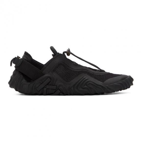 Kenzo Black Wave Sneakers - FA62SN004F57