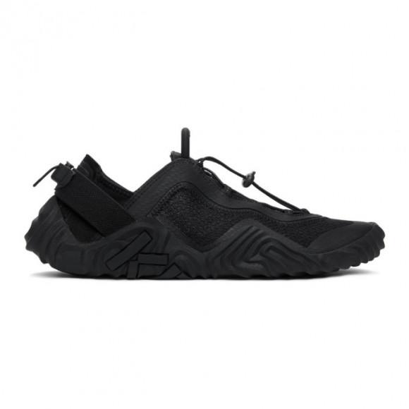 Kenzo Black Sport Wave Sneakers - FA65SN004F57