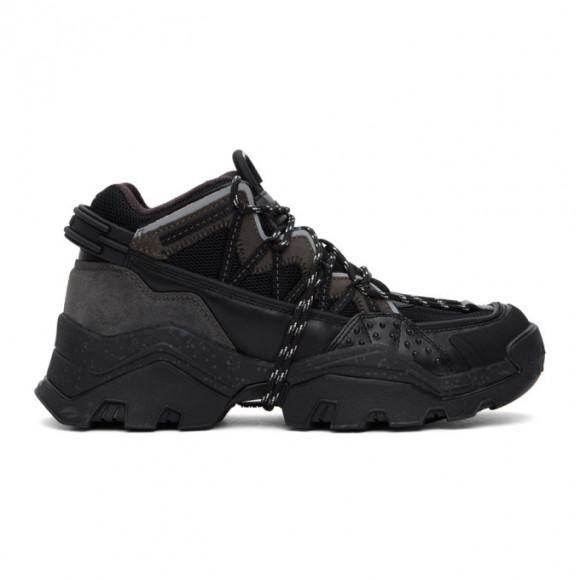 Kenzo Black Inka Sneakers - FA65SN300L69