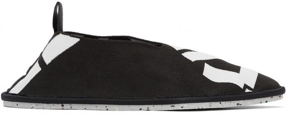 Kenzo Black Sport K-Knit Loafers - FB52LO010F74