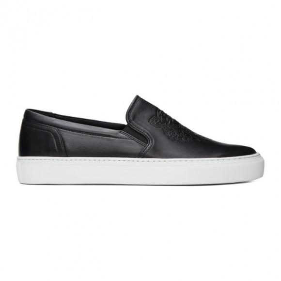 Kenzo Black K-Skate Slip-On Sneakers - FB52SN100L73