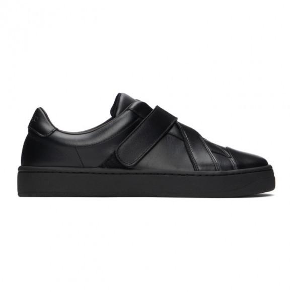 Kenzo Black Velcro Kourt Scratch Sneakers - FB52SN270L50