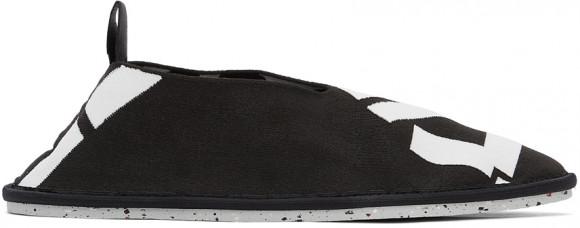 Kenzo Black Sport K-Knit Loafers - FB55LO010F74