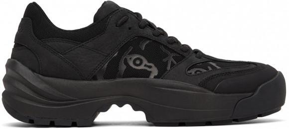 Kenzo Black Work Sneakers - FB55SN500L68