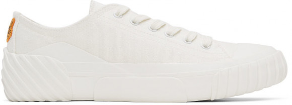 Kenzo White Tiger Crest Sneakers - FB65SN430F50