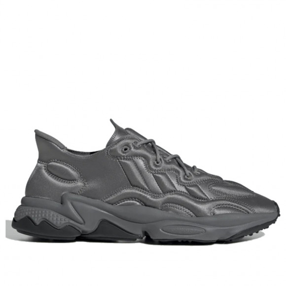 Mens adidas Originals Ozweego Tech 'Moon Landing' - Grey, Grey - FU7641