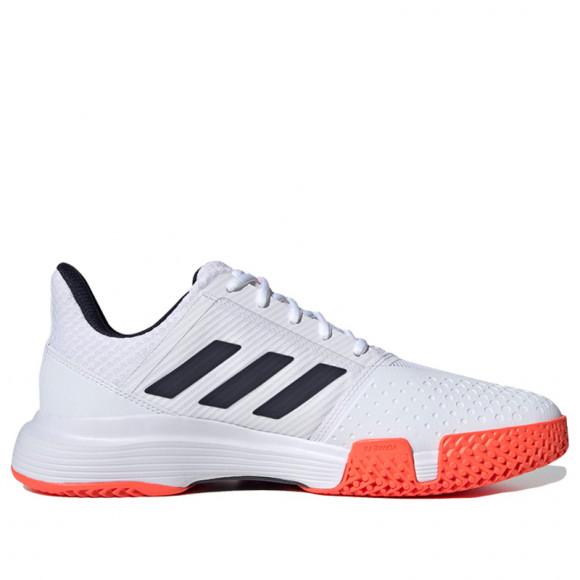 adidas CourtJam Bounce Shoes Cloud White Mens - FU8102