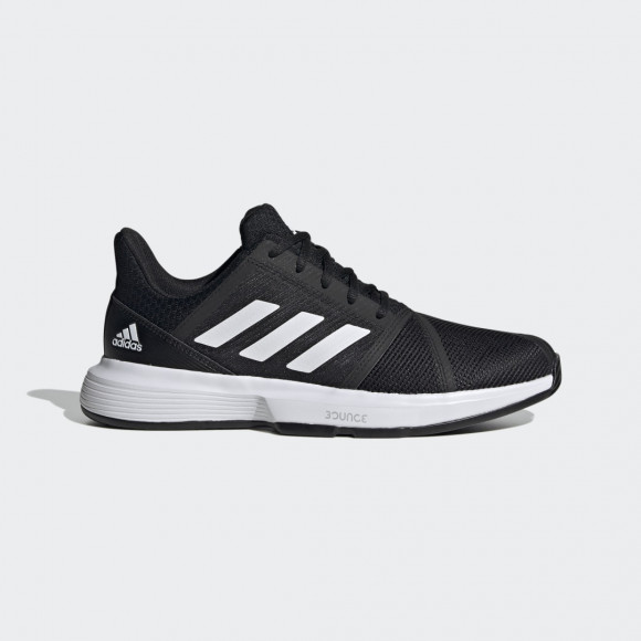 adidas CourtJam Bounce Shoes Core Black Mens - FU8103