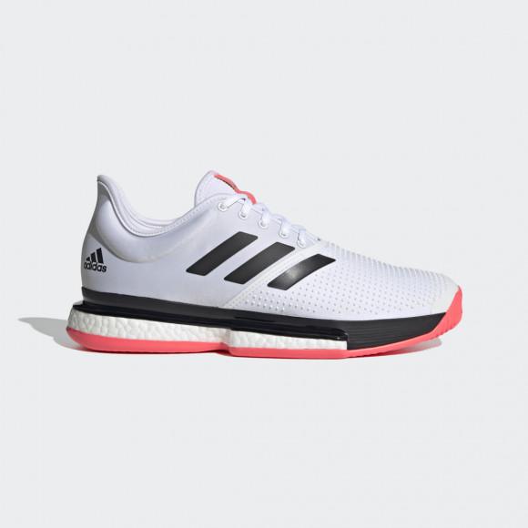 adidas SoleCourt Shoes Cloud White Mens - FU8114