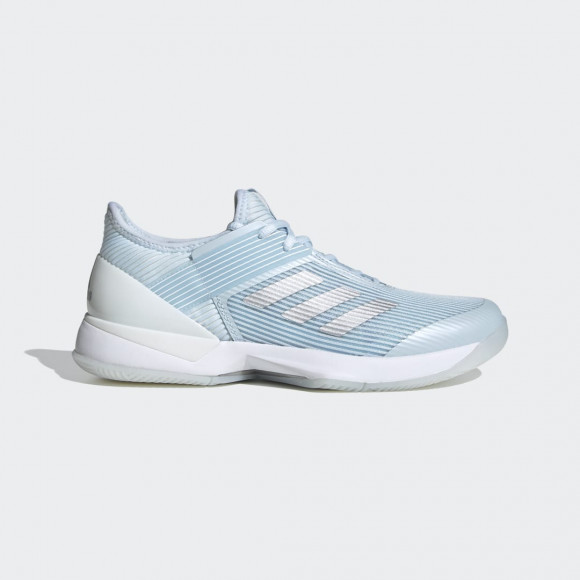 adidas Ubersonic 3 Hard Court Shoes Sky Tint Womens - FU8149