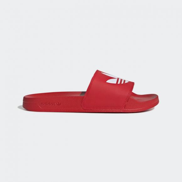 adidas Adilette Lite Slides Scarlet Mens - FU8296