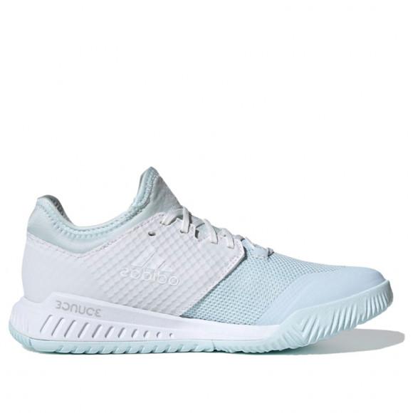adidas Court Team Bounce Shoes Sky Tint Womens - FU8323