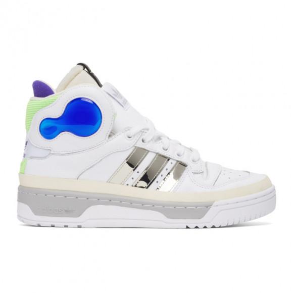 Sankuanz White adidas Edition Rivalry Hi Sneakers - FU8407