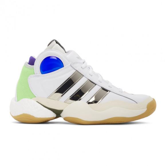 Sankuanz White adidas Edition Crazy BYW Sneakers - FU8408