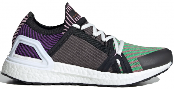 adidas Ultra Boost 20 Stella McCartney Semi Flash Green Sharp Purple (W) - FU8975