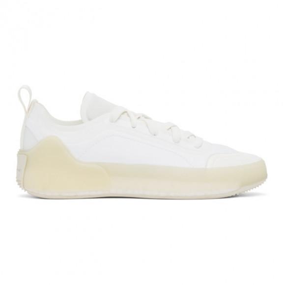 adidas by Stella McCartney White Treino Low-Top Sneakers - FU8996