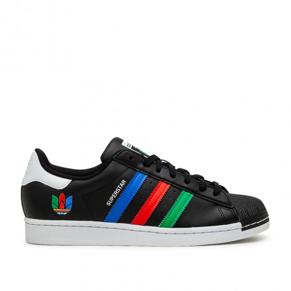 adidas Superstar Shoes Core Black Mens - FU9520