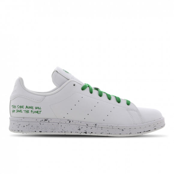 adidas Stan Smith Clean Classics White Green - FU9609