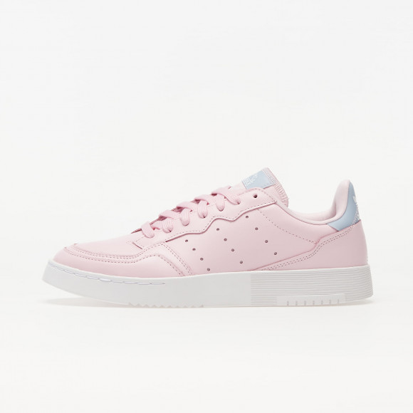 adidas Supercourt W Clear Pink/ Aero Blue/ Ftw White - FU9956