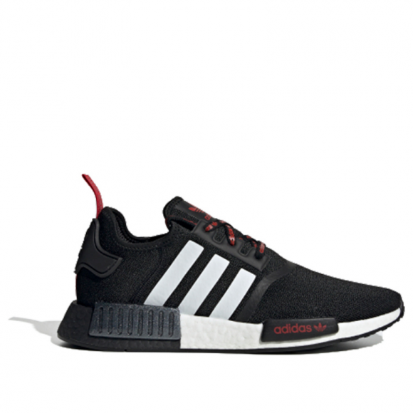 Adidas NMD_R1 STLT Primeknit 'Core Black Red' Core Black/Footwear White/Scarlet FV2548 - FV2548