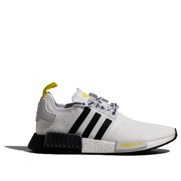 Adidas NMD_R1 STLT Primeknit 'White Black Bright Yellow' White/Black/Bright Yellow FV2549 - FV2549