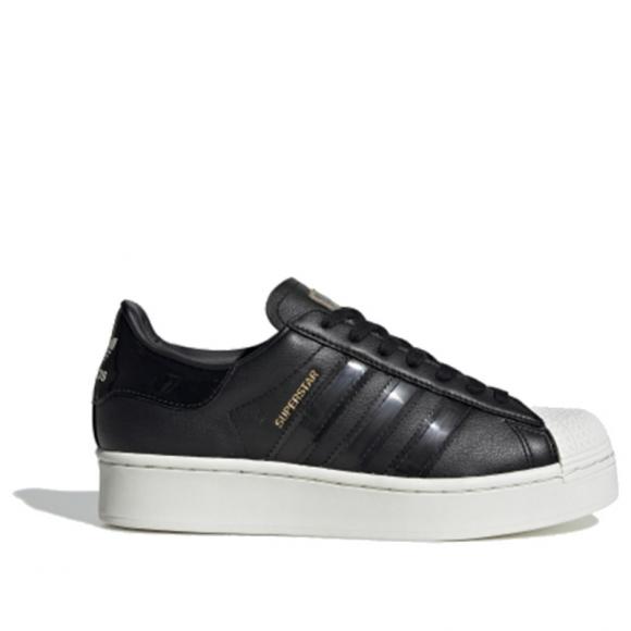 adidas Superstar Bold CORE BLACK OFF WHITE - FV3354