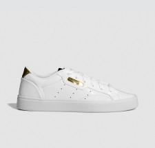 adidas Sleek W Ftw White/ Crystal White/ Gold Metalic - FV3395
