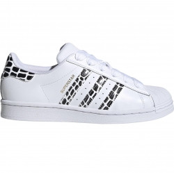 adidas Superstar W Ftw White/ Gold Metalic/ Core Black - FV3452