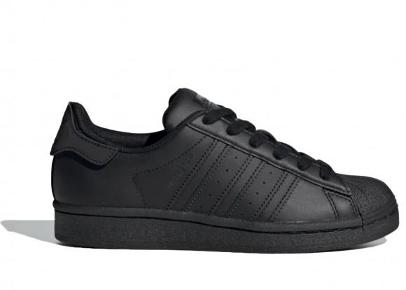 adidas Superstar Core Black Black (GS) - FV3702