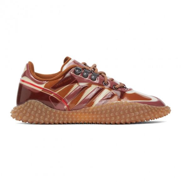 Craig Green Pink and Brown adidas Edition CG Polta AKH I Sneakers - FV4013