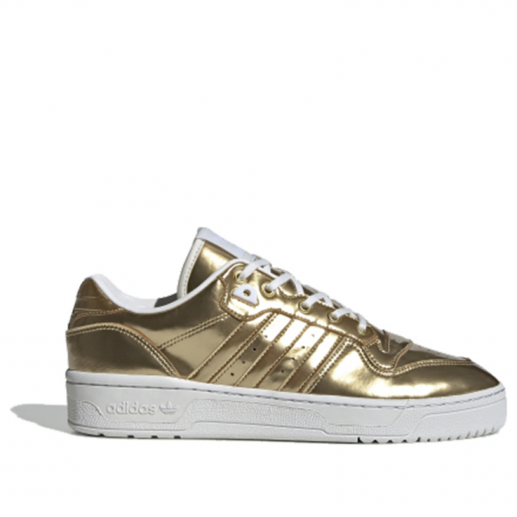 adidas Rivalry Low Gold Metalic/ Gold Metalic/ Crystal White - FV4287