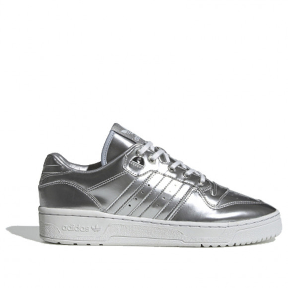 adidas Rivalry Low Silver Metalic/ Silver Metalic/ Crystal White - FV4291