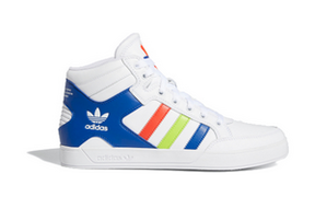 Adidas Hard Court Hi 'Multi-Color' White/Royal/Red Sneakers/Shoes FV5326 - FV5326