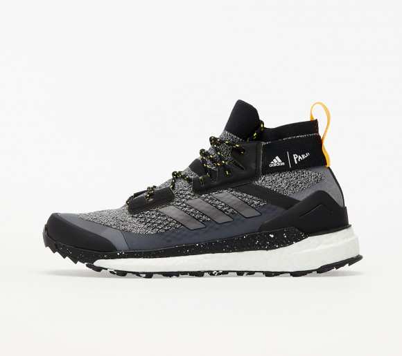 adidas Terrex Free Hiker Parley Core Black/ Crystal White/ Solid Gold - FV6792