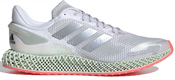 adidas 4D Run 1.0 Ftw White/ Silver Metalic/ Signature Pink - FV6960