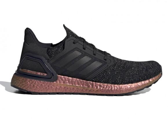 adidas Ultra Boost 20 Black Signal Pink - FV8335