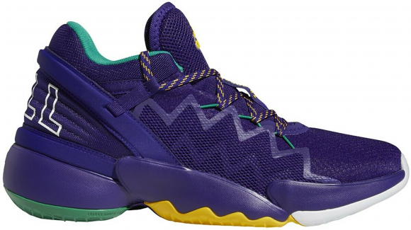 adidas DON Issue 2 Purple Gold - FV8959