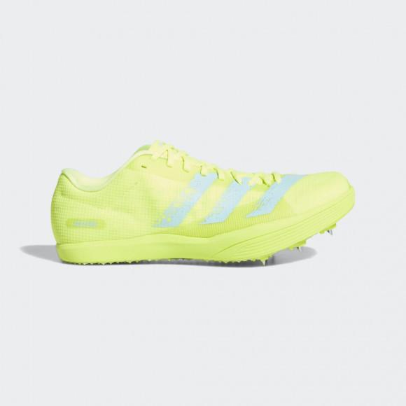 adidas Adizero Long Jump Spikes Solar Yellow Unisex - FW2243