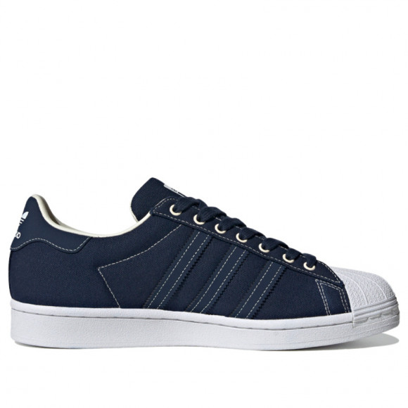 adidas Superstar Shoes Collegiate Navy Mens - FW2652