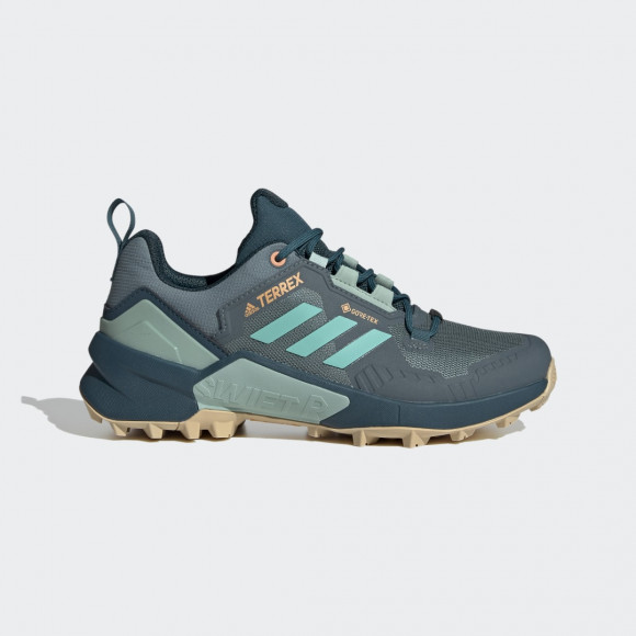 adidas Terrex Swift R3 GORE-TEX Hiking Shoes Hazy Emerald Womens - FW2780