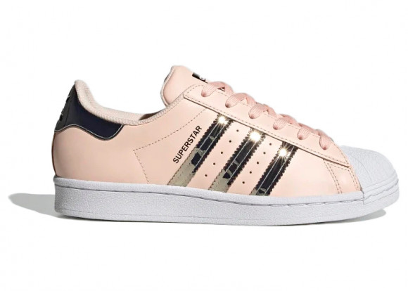 adidas Superstar Shoes Pink Tint Womens - FW5014