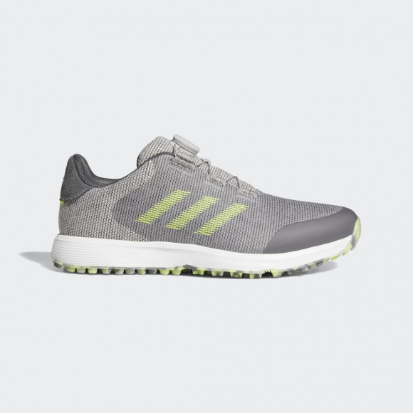 adidas S2G BOA Spikeless Golf Shoes Grey Two Mens