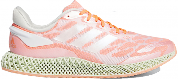 Mens adidas 4D Run 1.0 'Signal Coral' - Rose, Rose - FW6838