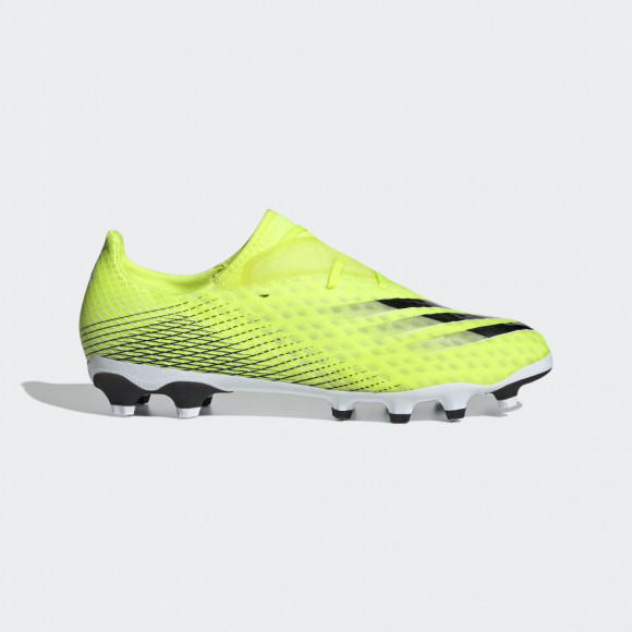 adidas X Ghosted.2 Multi-Ground Cleats Solar Yellow Mens - FW6979