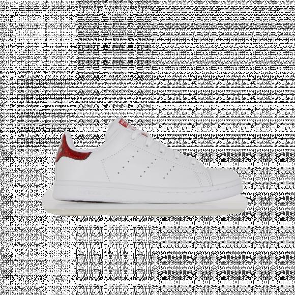 Stan Smith Glitter Adidas Originals Blanc/rouge/argent 35 Unisex ...