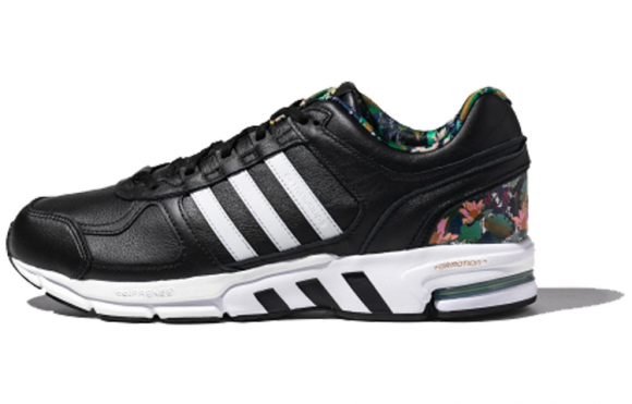 adidas leather running shoes