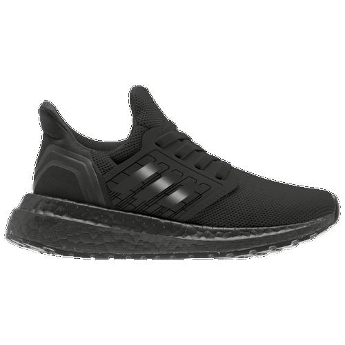 adidas Ultraboost 20 - Boys' Preschool Running Shoes - Black / Black
