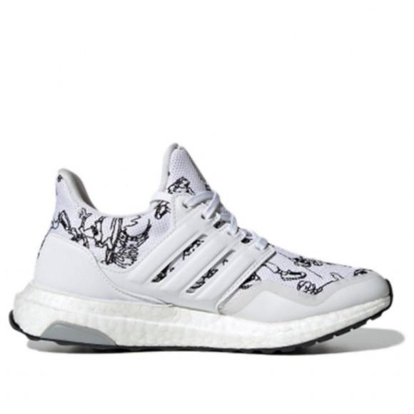 adidas Ultraboost 20 - Boys' Grade School Running Shoes - White / Blue
